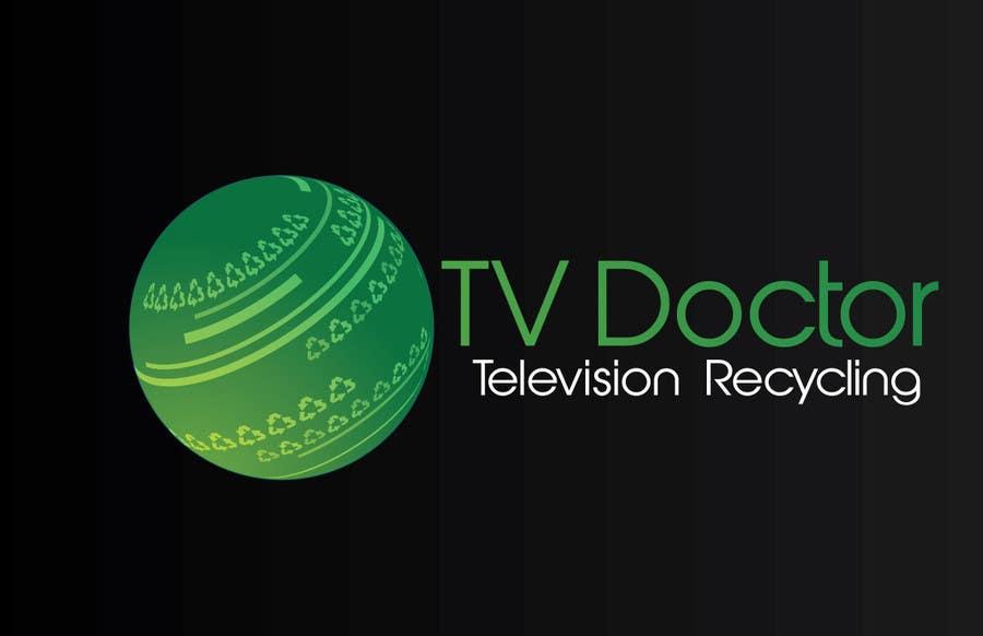 Penyertaan Peraduan #97 untuk Design a Logo for tv doctor recycling