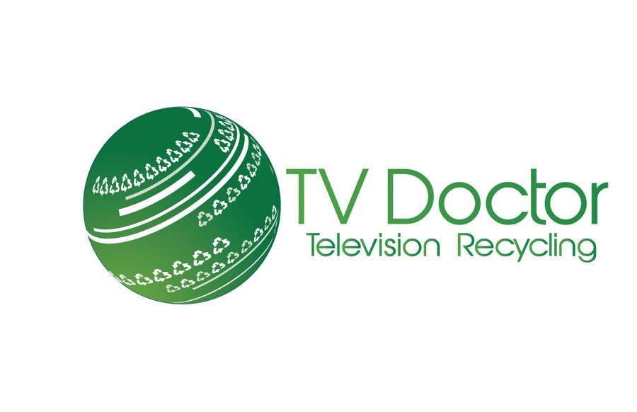 Penyertaan Peraduan #108 untuk Design a Logo for tv doctor recycling