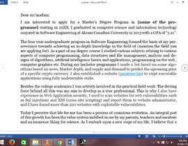 #4 para Write my letter of motivation for master studies por jahanzaib5555