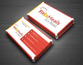 #19 for Design a Business Card for FitEx Meals by atikul4you
