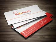 Graphic Design Contest Entry #59 for Design a Business Card for FitEx Meals