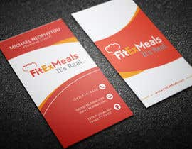 #60 for Design a Business Card for FitEx Meals by rashedul070