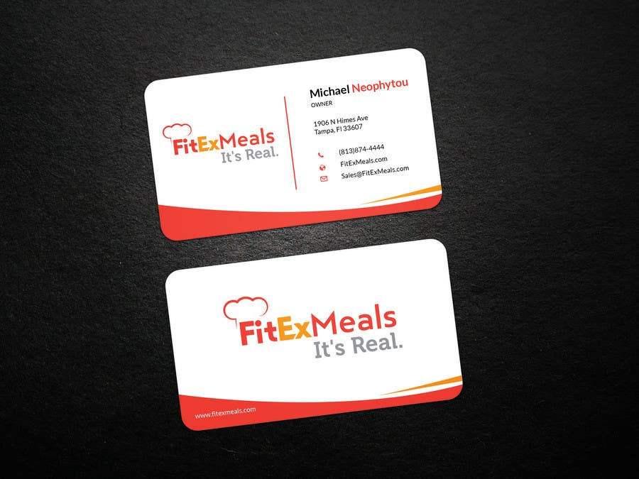 Contest Entry #54 for Design a Business Card for FitEx Meals