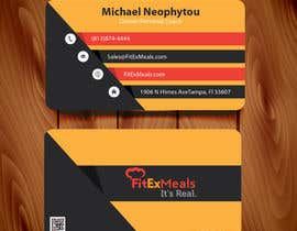 #51 for Design a Business Card for FitEx Meals by AllGraphicsMaker