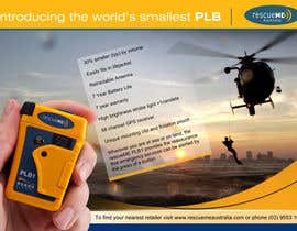 #2 untuk Design an Advertisement for Print - rescueME Personal Locator Beacon oleh Sahir75