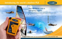 Contest Entry #5 for Design an Advertisement for Print - rescueME Personal Locator Beacon