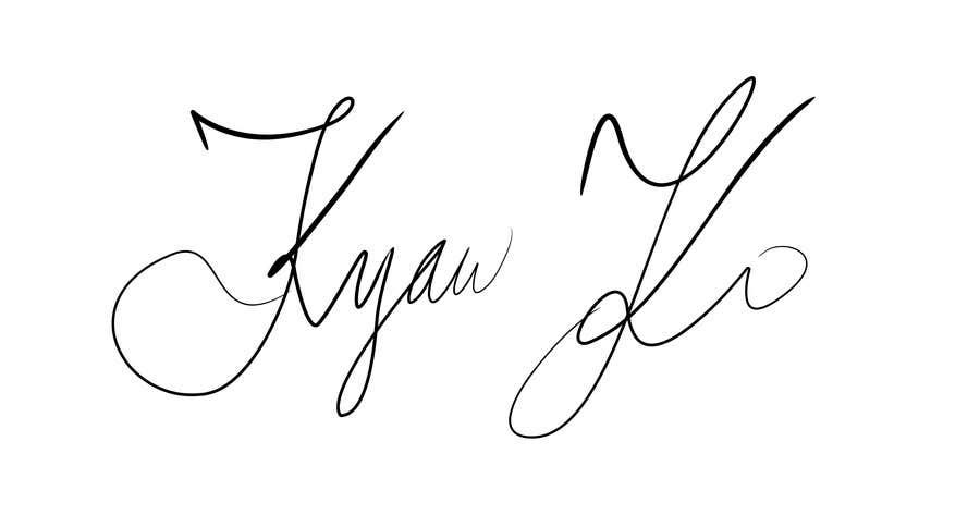 Penyertaan Peraduan #50 untuk I need some Graphic Design for My Signature