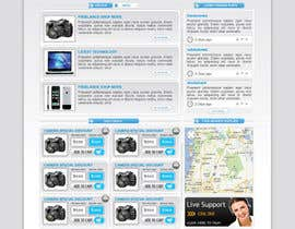 logitac tarafından Website Design for freelance shop için no 103