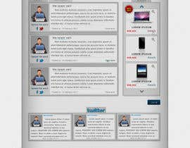CTRaul tarafından Website Design for freelance shop için no 114