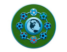 #24 para Logo designe about football and its outcoming power of walls and barriers por UnstableEntropy