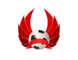 #10 para Logo designe about football and its outcoming power of walls and barriers por constantindirzu
