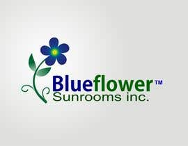 #346 para Logo Design for Blueflower TM Sunrooms Inc.  Windscreen/Sunrooms screen reduces 80% wind on deck por asifjano