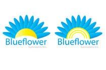 Graphic Design Конкурсная работа №416 для Logo Design for Blueflower TM Sunrooms Inc.  Windscreen/Sunrooms screen reduces 80% wind on deck