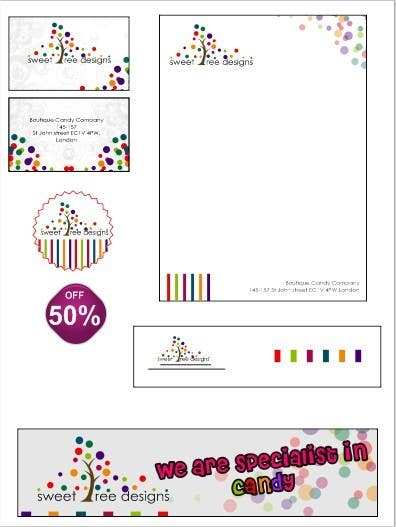#121 for Design a Logo for a Boutique Candy Company by swdesignindia