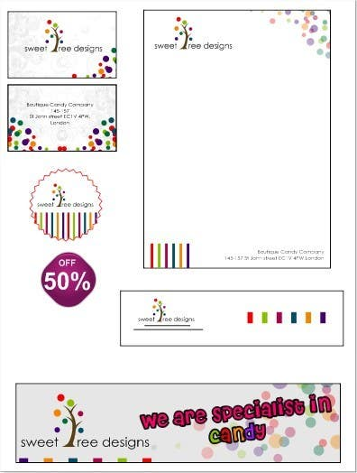 #123 for Design a Logo for a Boutique Candy Company by swdesignindia