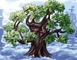 #6 for Adding colour to The Steadfast Oak by Biram