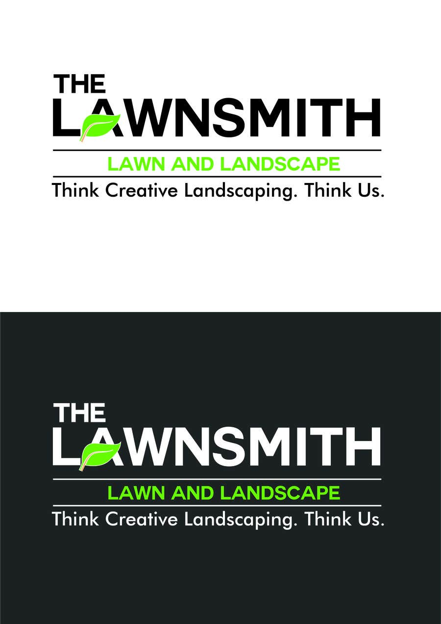 Contest Entry 22 For The Lawnsmith Lawn Landscape Logo