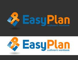 #57 untuk Design a Logo for EasyPlan - a digital workbook on the go oleh creativdiz