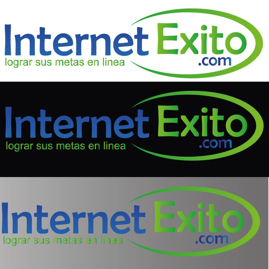 Kilpailutyö #                                        288                                      kilpailussa                                         Logo design for Internet Exito.com