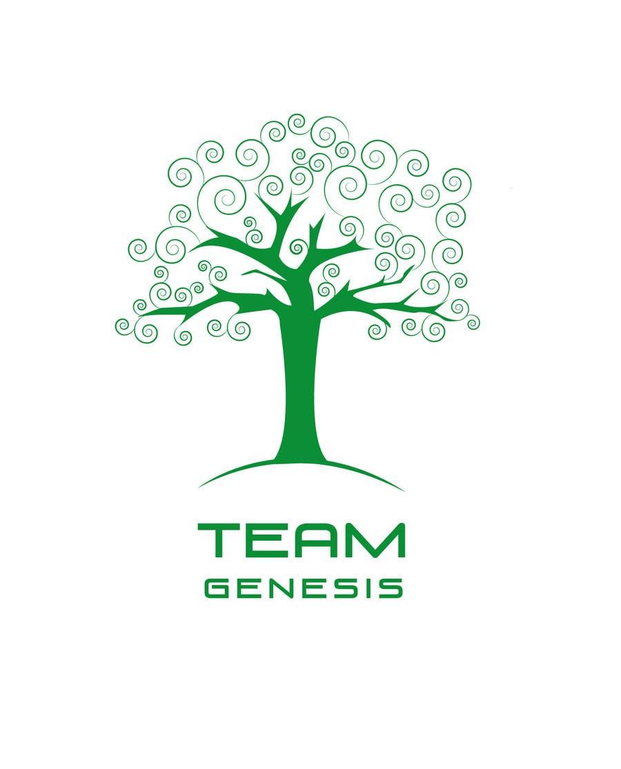 Penyertaan Peraduan #59 untuk Design a Logo for Team Genesis