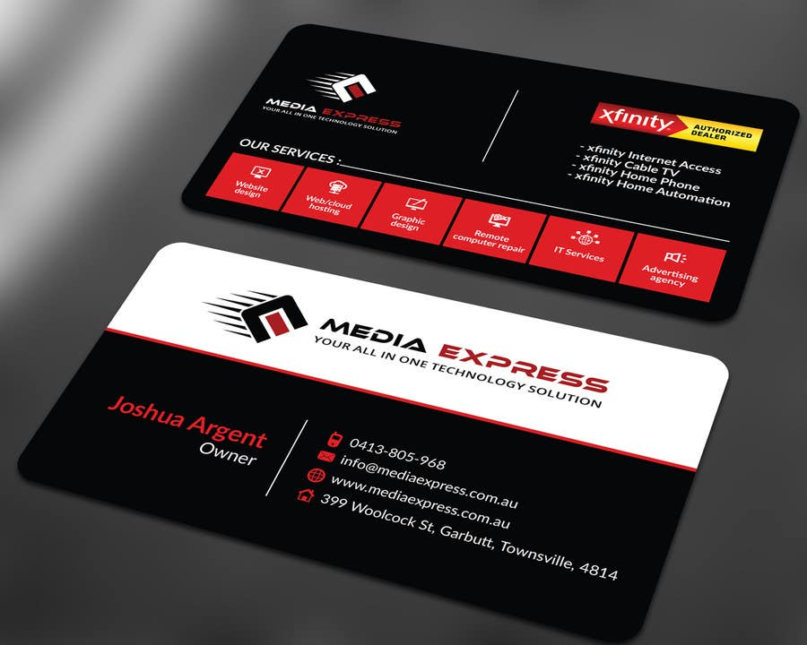 Entry #36 by ALLHAJJ17 for Design a Business Cards, Brochures etc ...
