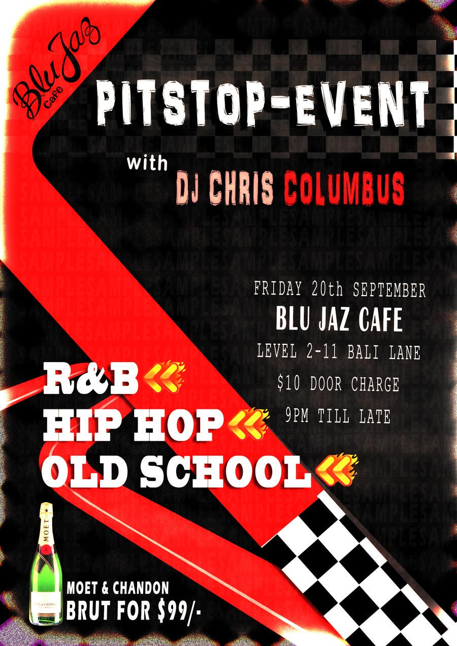 Contest Entry #8 for Design a Flyer for Event Called PITSTOP
