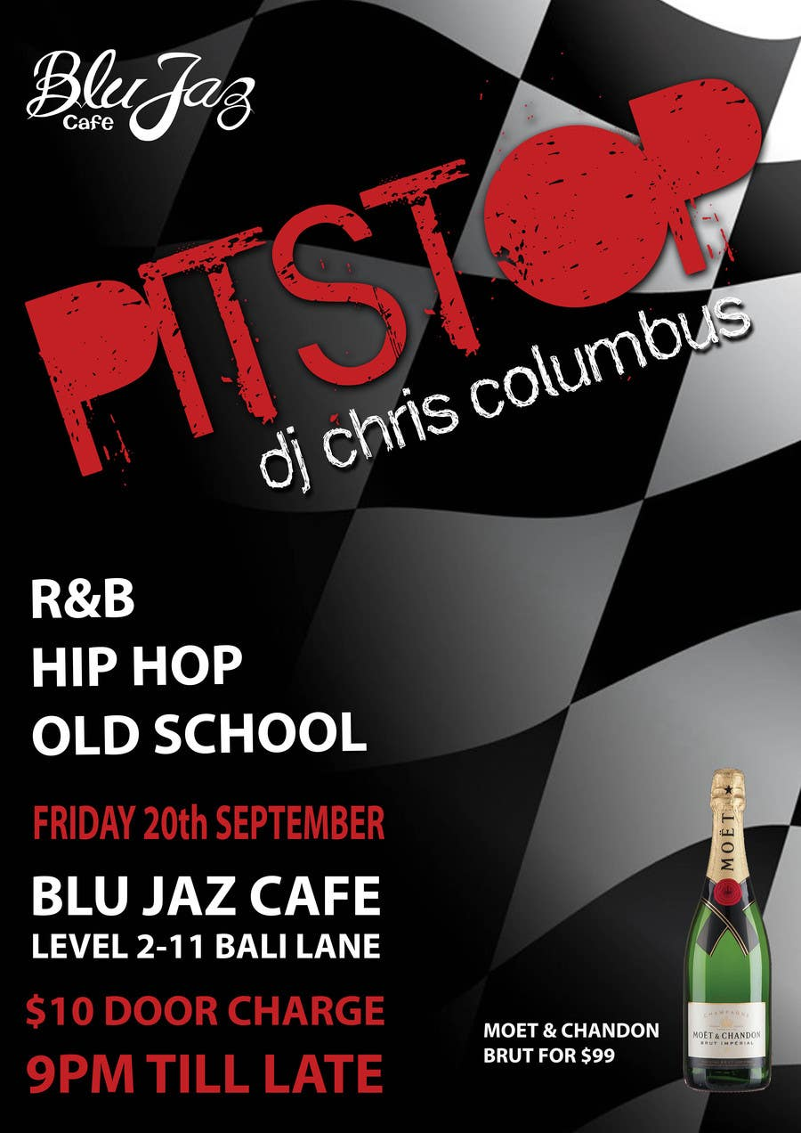 Proposition n°3 du concours Design a Flyer for Event Called PITSTOP