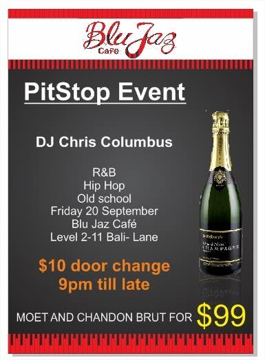 Proposition n°9 du concours Design a Flyer for Event Called PITSTOP