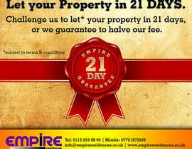 #6 for Design a Flyer for a Letting Agency by linokvarghese