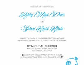 #28 para Wedding invitations por Ashleyperez