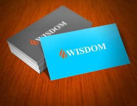 "#54 para Design a Logo for ""Wisdom USA Inc"" por creativeblack"