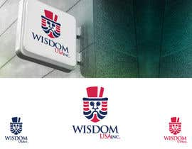 "#65 para Design a Logo for ""Wisdom USA Inc"" por a44gbr"