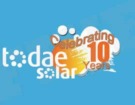 #29 para Develop 10th Birthday Concept for Solar Company por five55555