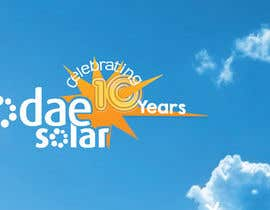 nº 15 pour Develop 10th Birthday Concept for Solar Company par SueKocian
