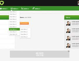 #14 for Redesign User Interface for Line of Business Web Application by iNoesis