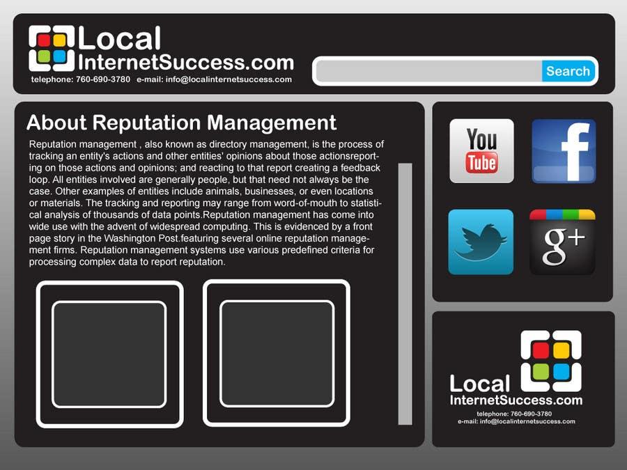 Конкурсная заявка №253 для Graphic Design for Local Internet Success.com