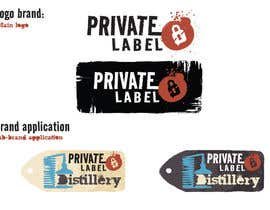 #19 untuk Design a Logo for Private Label Distillery oleh Cozmonator