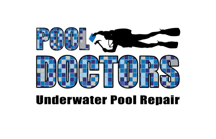 Contest Entry #22 for Design a Logo for an Underwater Swimming Pool Repair Business