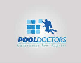 #29 untuk Design a Logo for an Underwater Swimming Pool Repair Business oleh IAlfonso