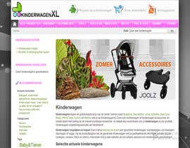 #13 untuk Design a background image for a stroller comparison site oleh sykov