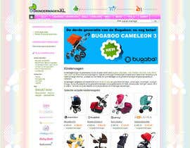 #12 for Design a background image for a stroller comparison site af RoxanaFR