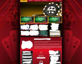 #52 para Background for casino website por Wbprofessional
