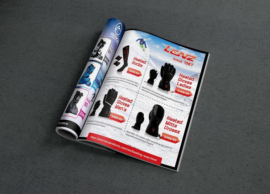 Inscrição nº 81 do Concurso para Design 3 pages of magazine ads