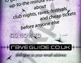 #9 for Need a talented artist to design a flyer for a rave / clubbing website af kpk1l