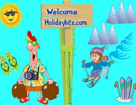 #16 for Design a Logo for my website holidaybitz.com by ryreya