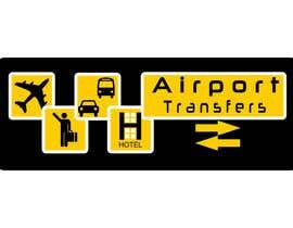 Nro 62 kilpailuun Logo design for Airport Transfers käyttäjältä netbih