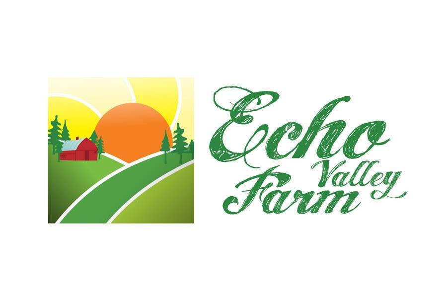 Inscrição nº 459 do Concurso para Logo Design for Echo Valley Farm