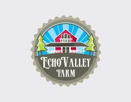 #176 untuk Logo Design for Echo Valley Farm oleh ezmode