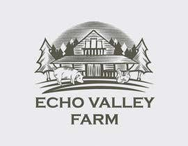 #372 untuk Logo Design for Echo Valley Farm oleh ezmode