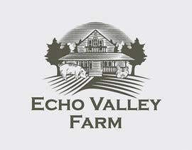 #446 untuk Logo Design for Echo Valley Farm oleh ezmode